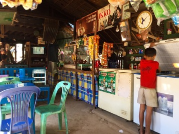 Small well-stocked shops in tiny villages