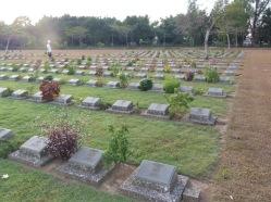 The Thanbyuzayat war cemetery