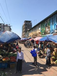Zeigyi or Myine Yadanar market