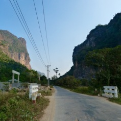 Smaller roads close to Hpa-an