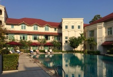 The tastefully decorated and luxurious Hotel Dawei (2018)