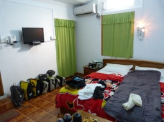 Gandamar guesthouse in Letpadan, offering great value for little money (2012)