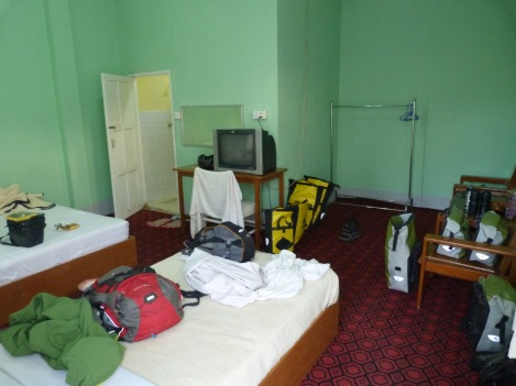 Our basic but pleasant enough room close to Mount Popa (2012)
